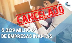 3,309 Milhões De Empresas Inaptas Notícias E Artigos Contábeis - Contabilidade em São Paulo | Pizzol Contábil