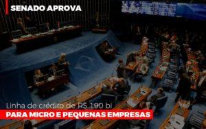 Senado Aprova Linha De Crédito De R$190 Bi Para Micro E Pequenas Empresas Notícias E Artigos Contábeis - Contabilidade em São Paulo | Pizzol Contábil