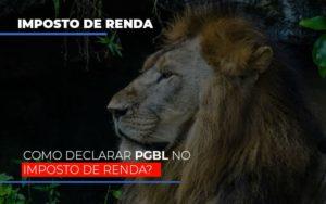 Ir2020:como Declarar Pgbl No Imposto De Renda Notícias E Artigos Contábeis - Contabilidade em São Paulo | Pizzol Contábil
