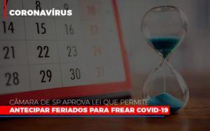 Camara De Sp Aprova Lei Que Permite Antecipar Feriados Para Frear Covid 19 Notícias E Artigos Contábeis - Contabilidade em São Paulo | Pizzol Contábil