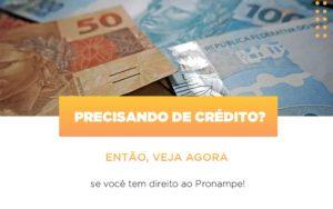 Precisando De Credito Entao Veja Se Voce Tem Direito Ao Pronampe Notícias E Artigos Contábeis - Contabilidade em São Paulo | Pizzol Contábil