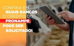 Confira Em Quais Bancos O Credito Pronampe Ja Pode Ser Solicitado - Contabilidade em São Paulo | Pizzol Contábil