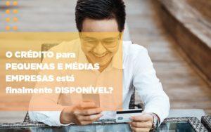O Credito Para Pequenas E Medias Empresas Esta Finalmente Disponivel Notícias E Artigos Contábeis Notícias E Artigos Contábeis Em São Paulo | Pizzol Contábil - Contabilidade em São Paulo | Pizzol Contábil