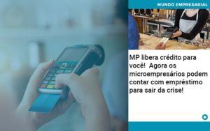 Mp Libera Credito Para Voce Agora Os Microempresarios Podem Contar Com Emprestimo Para Sair Da Crise - Contabilidade em São Paulo | Pizzol Contábil
