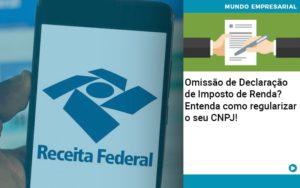Omissao De Declaracao De Imposto De Renda Entenda Como Regularizar O Seu Cnpj - Contabilidade em São Paulo | Pizzol Contábil